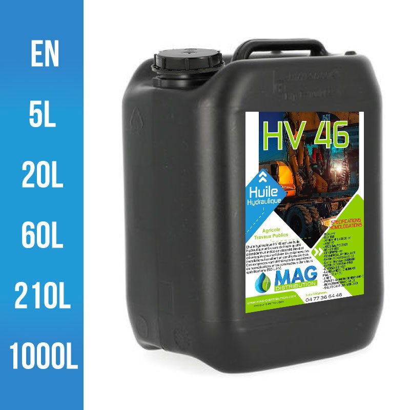 Huile Hydraulique HV 46