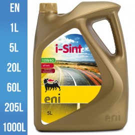 Huile moteur Eni i-Sint 10W-40 semi synthèse